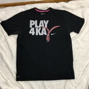 Nike Dri-Fit Play for Kay Pink Ribbon Graphic Tee